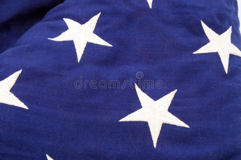 Download Flag Detail stock image. Image of material, blue, stars - 470077