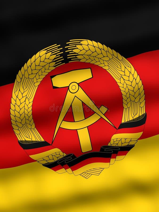 Download Flag of East Germany stock illustration. Illustration of chile - 1132781