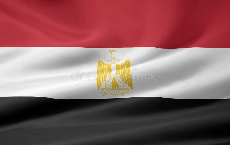 Flag of Egypt stock image