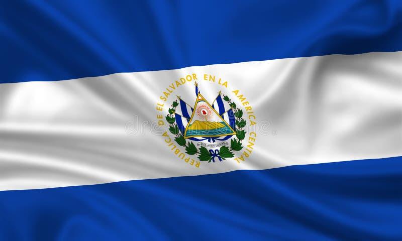 Download Flag of El Salvador stock illustration. Image of emblem - 15423343