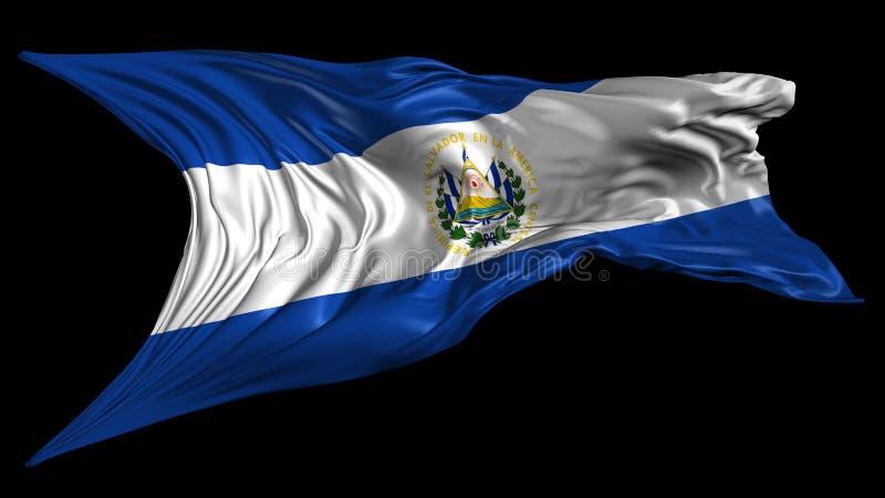 Flag Of El Salvador Stock Video Illustration Of Screen 42495893