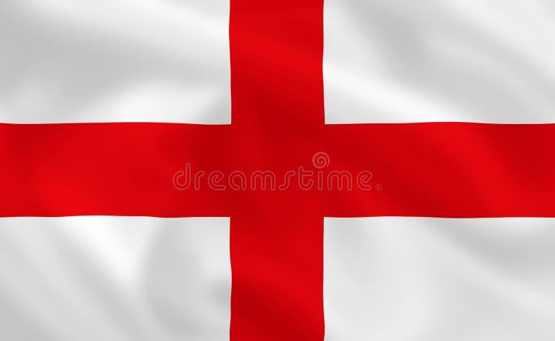 Flag of England royalty free illustration