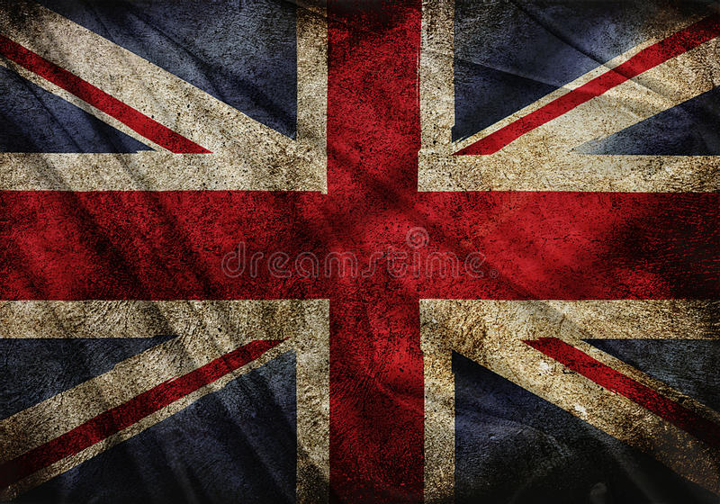 Flag of England royalty free illustration