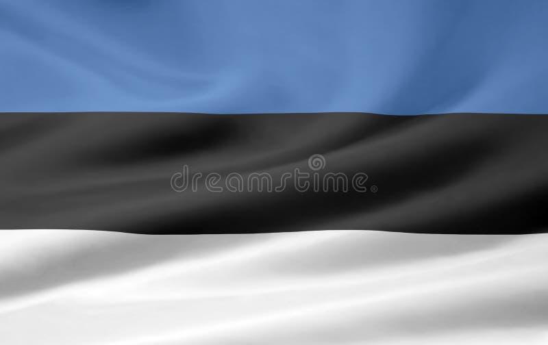 Flag of Estonia royalty free stock images