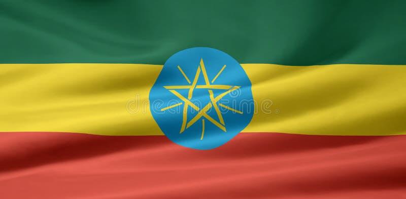 Flag of Ethiopia stock images