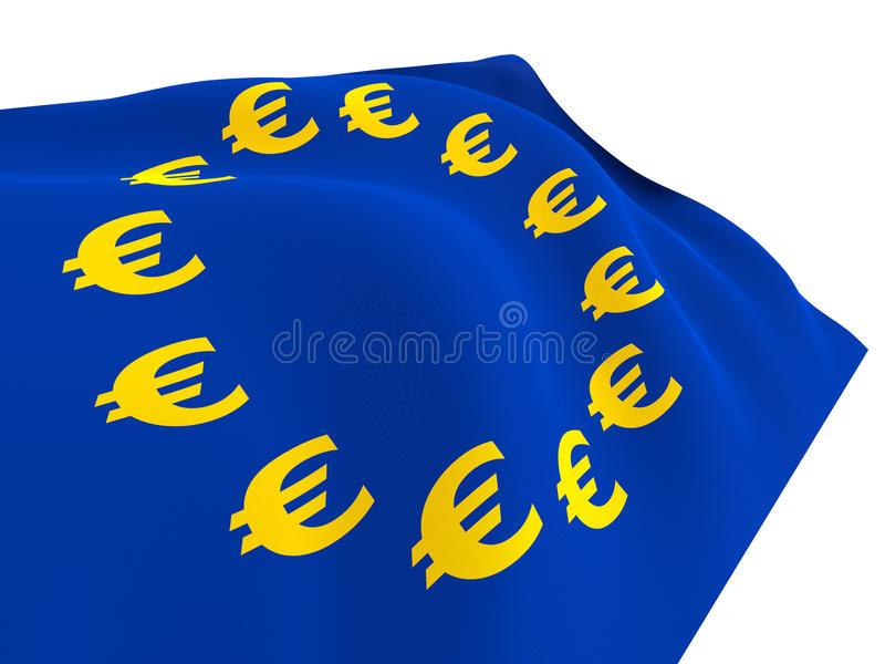 Download Flag Of Euro-Currency Stock Photo - Image: 23601150