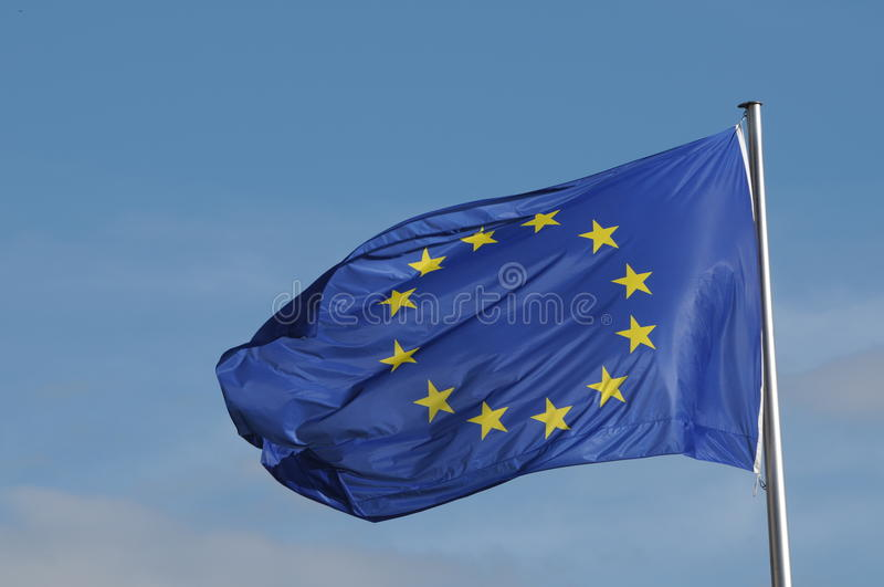 Download Flag of European Union stock photo. Image of blue, relationship - 20260290