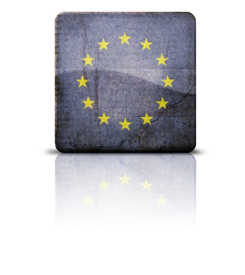 Download Flag Of European Union stock illustration. Illustration of cracked - 4097751