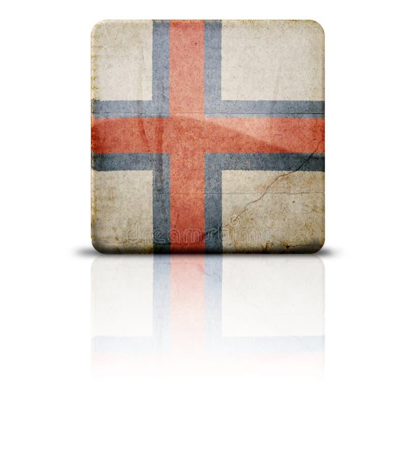 Download Flag Of Faroe Islands stock illustration. Image of cracked - 4124754