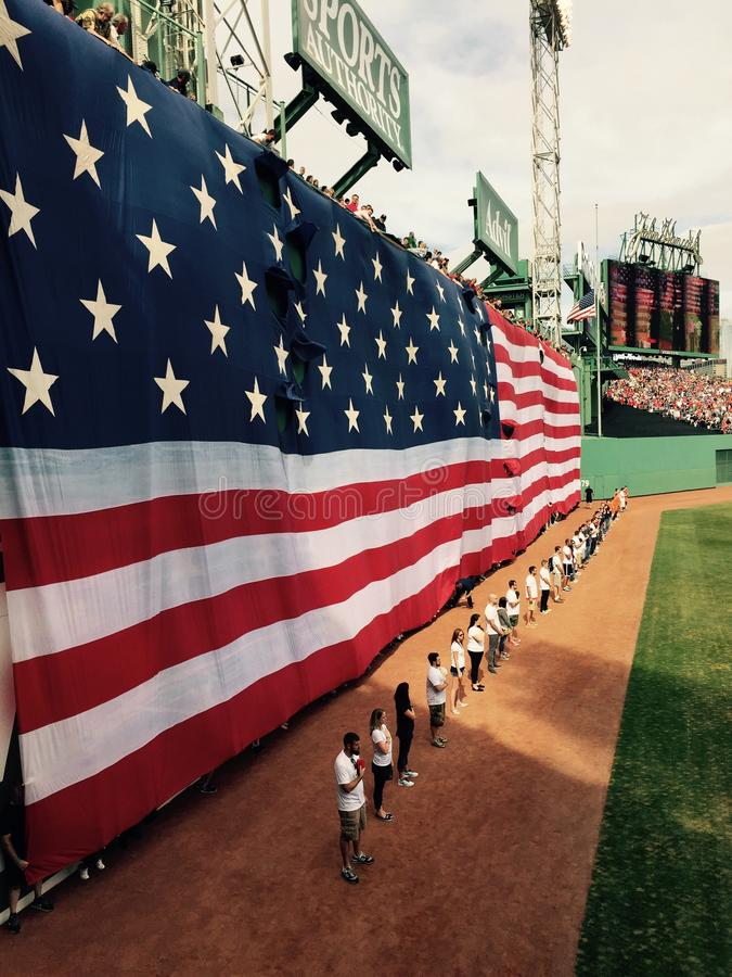 Flag@Fenway stock images