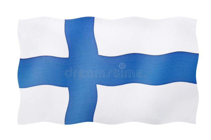 Download Flag Of Finland stock photo. Image of isolated, clipping - 5361640