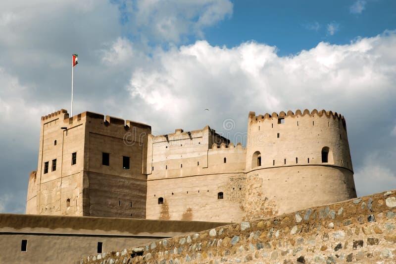 flag forten arkivfoton