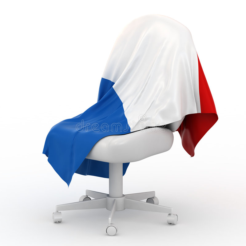 Download Flag of France. stock illustration. Image of symbol, insulated - 8338246