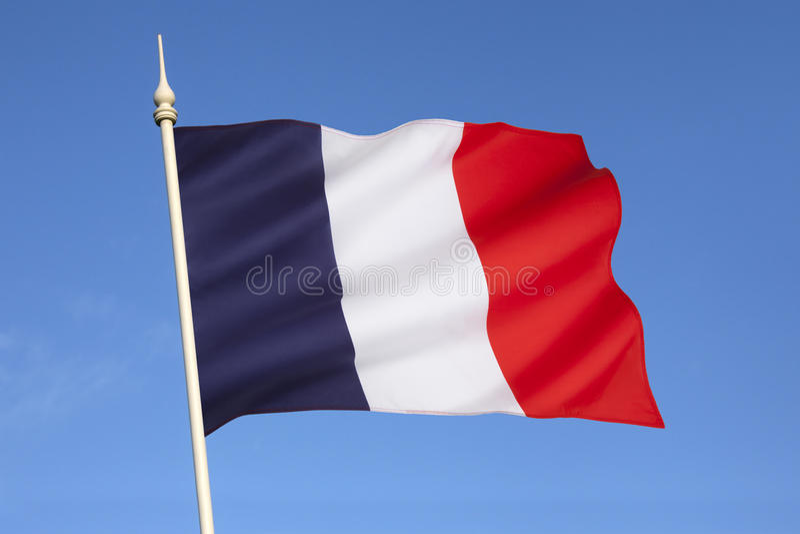 Flag of France - Europe stock image