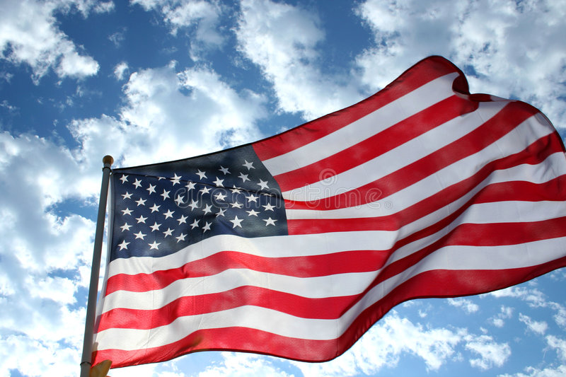 Flag of Freedom royalty free stock images