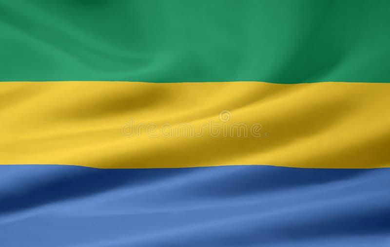 Flag of Gabon stock photography
