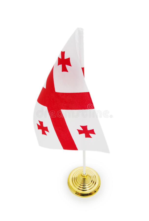 Download Flag of Georgia stock photo. Image of patriotism, symbol - 14546836