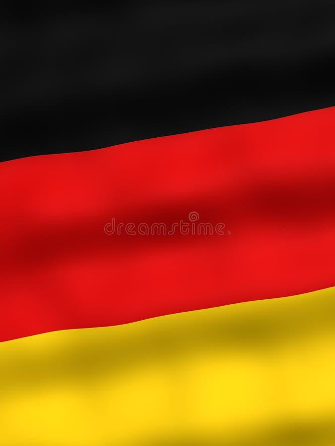 Flag of Germany vector illustration