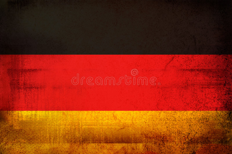 Download Flag of Germany stock illustration. Illustration of grunge - 3783955