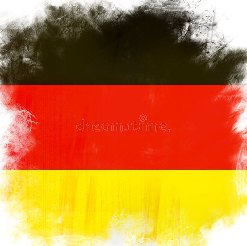 Download Flag of Germany stock illustration. Image of pattern, faded - 4320883