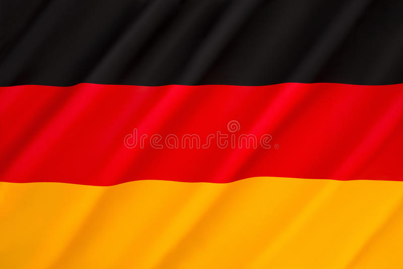 Flag of Germany royalty free stock images