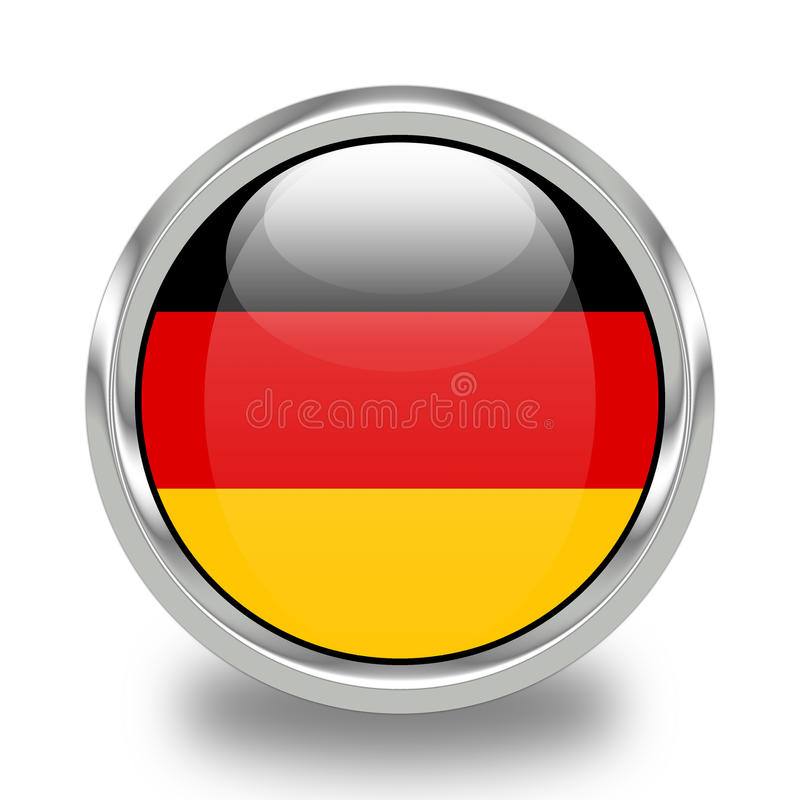 Flag of Germany royalty free illustration