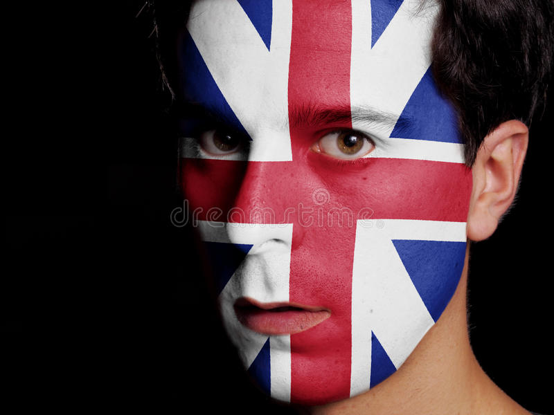 Flag of Great Britain stock image