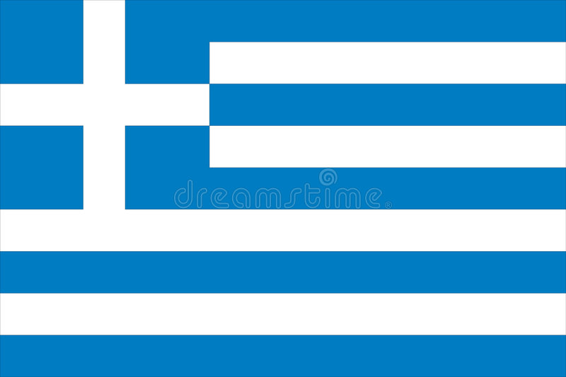 Download Flag of greece stock vector. Image of ethnical, greece - 6894441