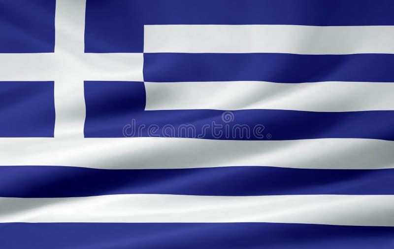 Flag of Greece stock photos