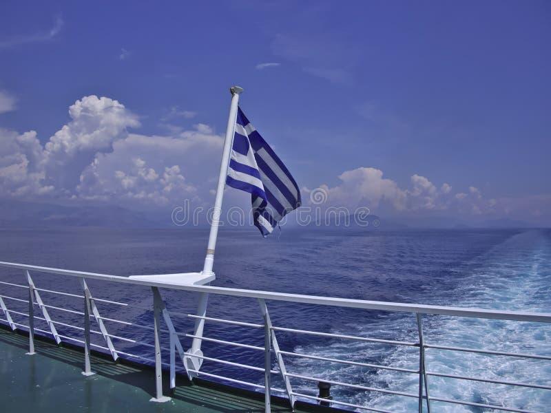 Flag Of Greece stock image