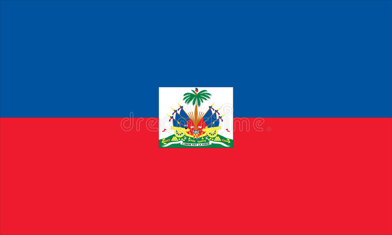 Flag of Haiti. Vector Illustration