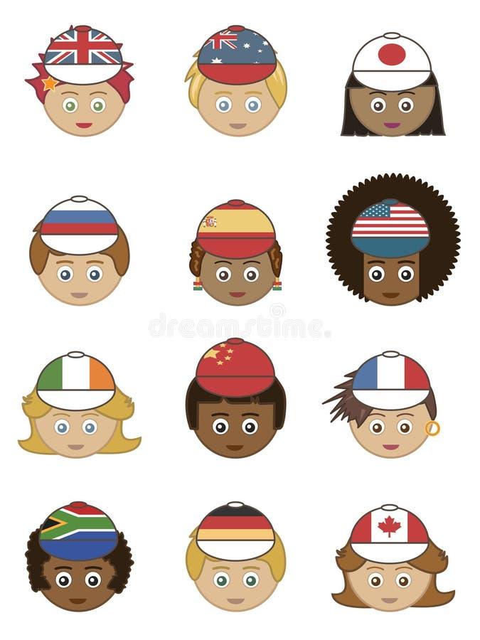 Free Flag Hats Stock Photo - 13683780