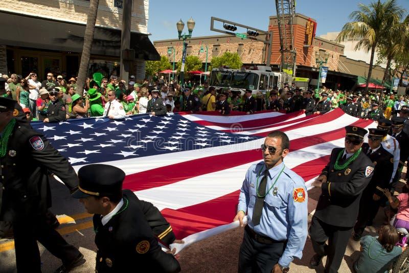 Download Flag Honor Guard - Saint Patrick's Day Parade Editorial Image - Image: 23893520