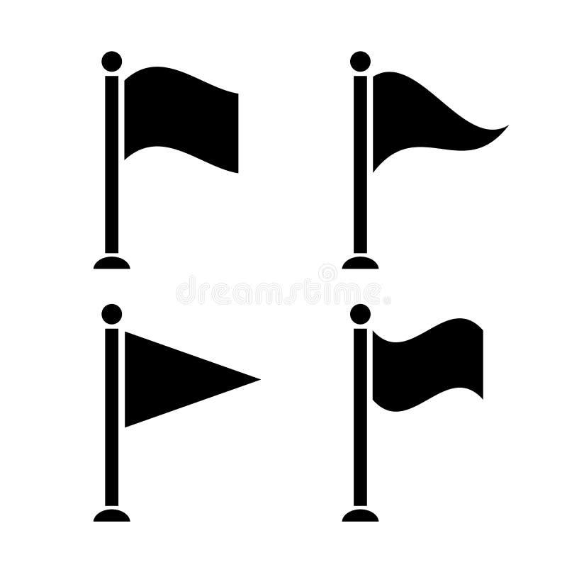 Flag icon vector illustration