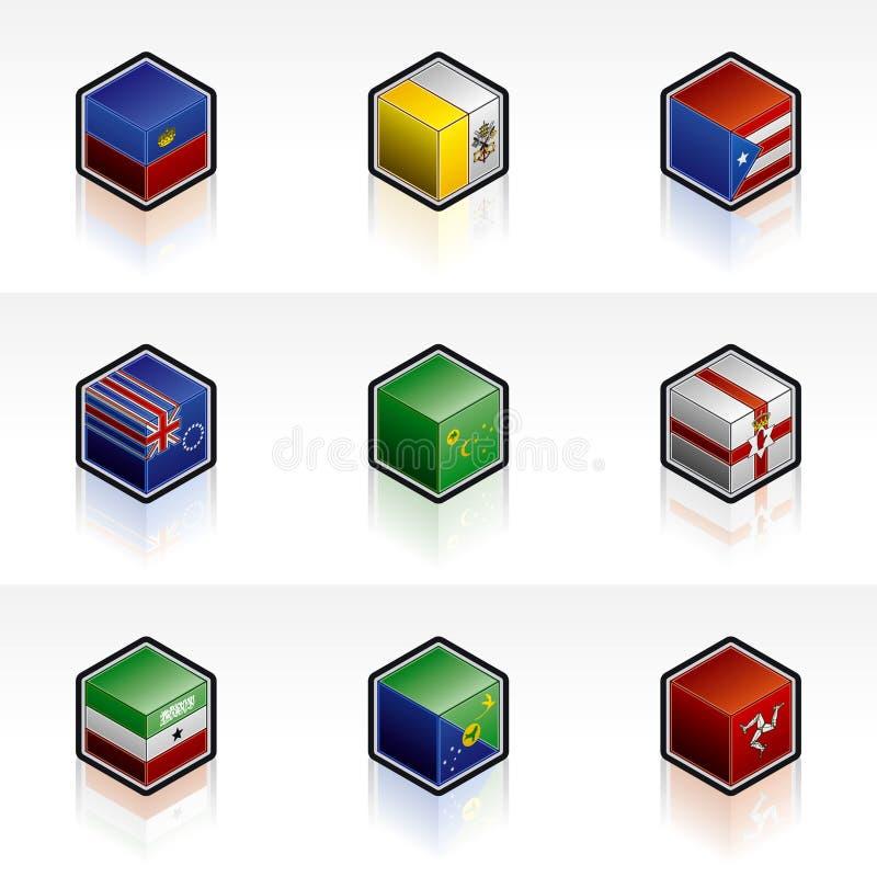 Flag Icons Set - Design Elements 56y