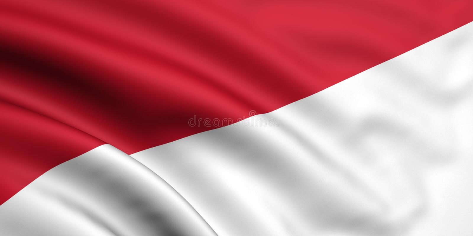 Download Flag Of Indonesia / Monaco stock illustration. Image of state - 5279243