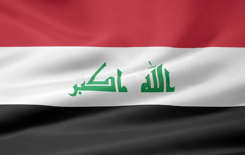Flag of Iraq stock photos