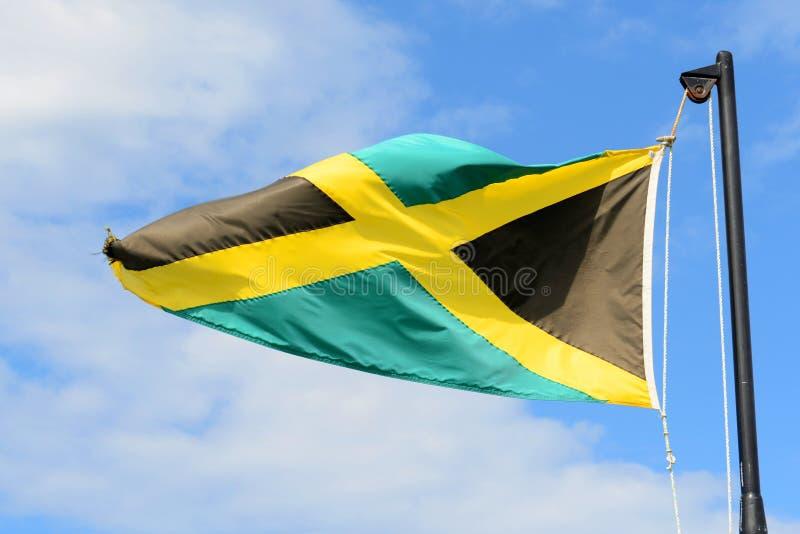 Flag of Jamaica stock photo