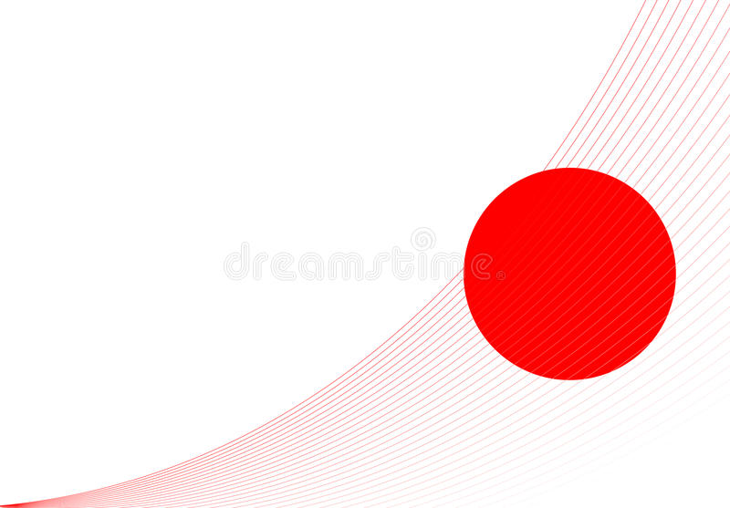 Download The flag of Japan. stock vector. Image of colours, illustration - 10273101