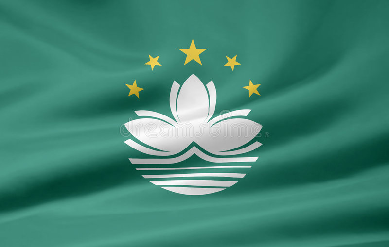 Download Flag of Macau stock illustration. Image of symbolize, casino - 6892372