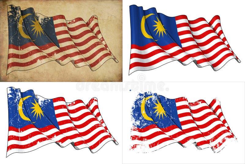 Download Flag of Malaysia stock illustration. Illustration of flag - 25855804