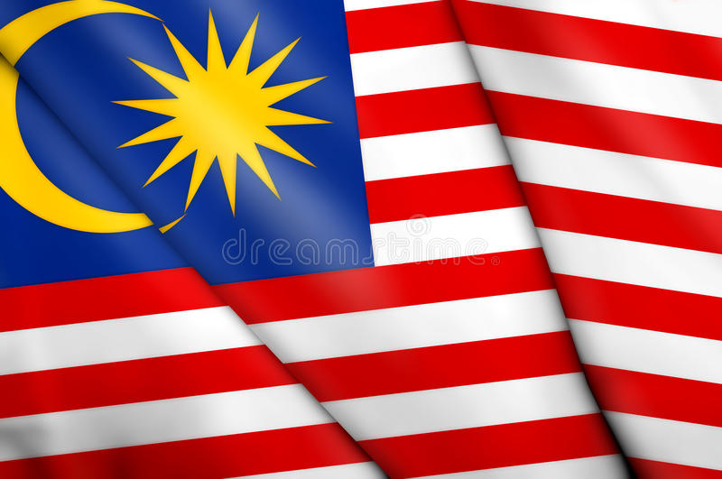Download Flag of Malaysia stock illustration. Illustration of pinboard - 9936177