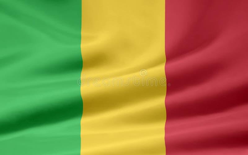 Flag of Mali stock photo