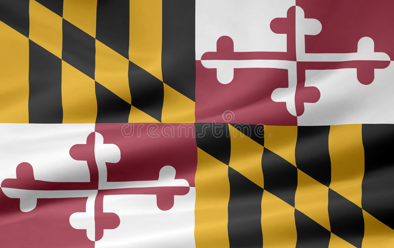 Download Flag Of Maryland Royalty Free Stock Photography - Image: 5966277
