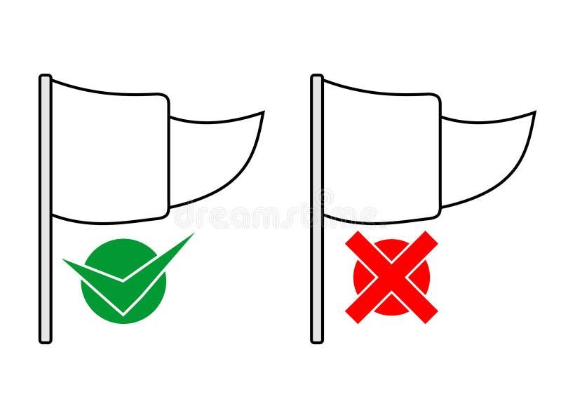 Flag message icon