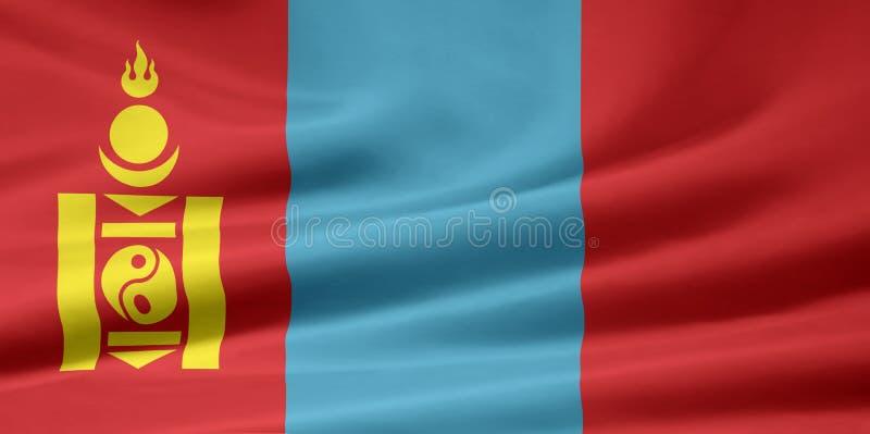 Flag of Mongolia royalty free stock image