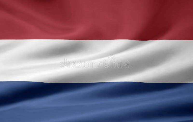 Flag of Netherland stock photo