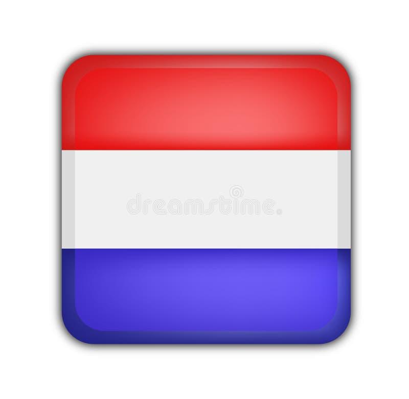 Download Flag of netherlands stock illustration. Image of logo - 6575390