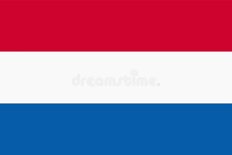 Flag of Netherlands background illustration large file. A flag of Netherlands background illustration large file vector illustration