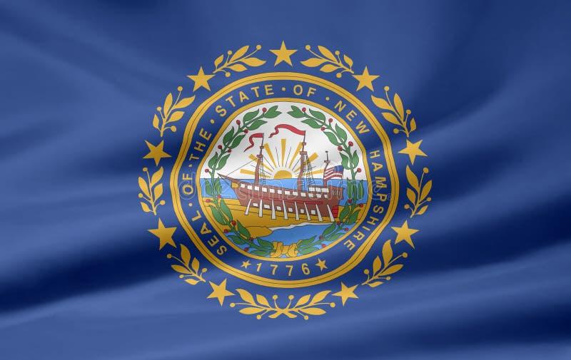 Flag Of New Hampshire Stock Image